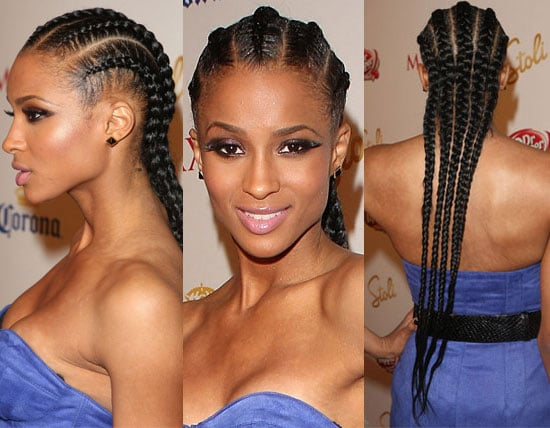 Simple and Sleek Cornrows