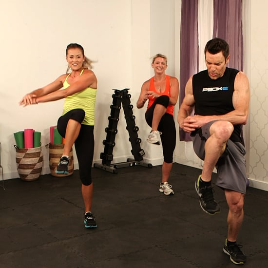 10-Minute Full-Body Workout With P90X's Tony Horton | POPSUGAR Fitness