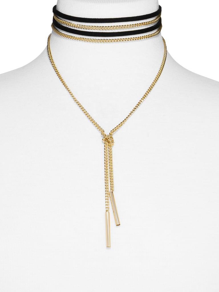 SugarFix by BaubleBar x Target Chain Wrap Choker Necklace