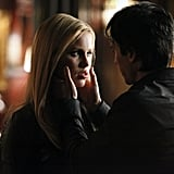Ian Somerhalder as Damon and Claire Holt as Rebekah in The Vampire Diaries. Photo courtesy of The CW