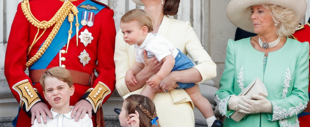 Kate Middleton Says George Is Jealous of Louis's Sunflowers