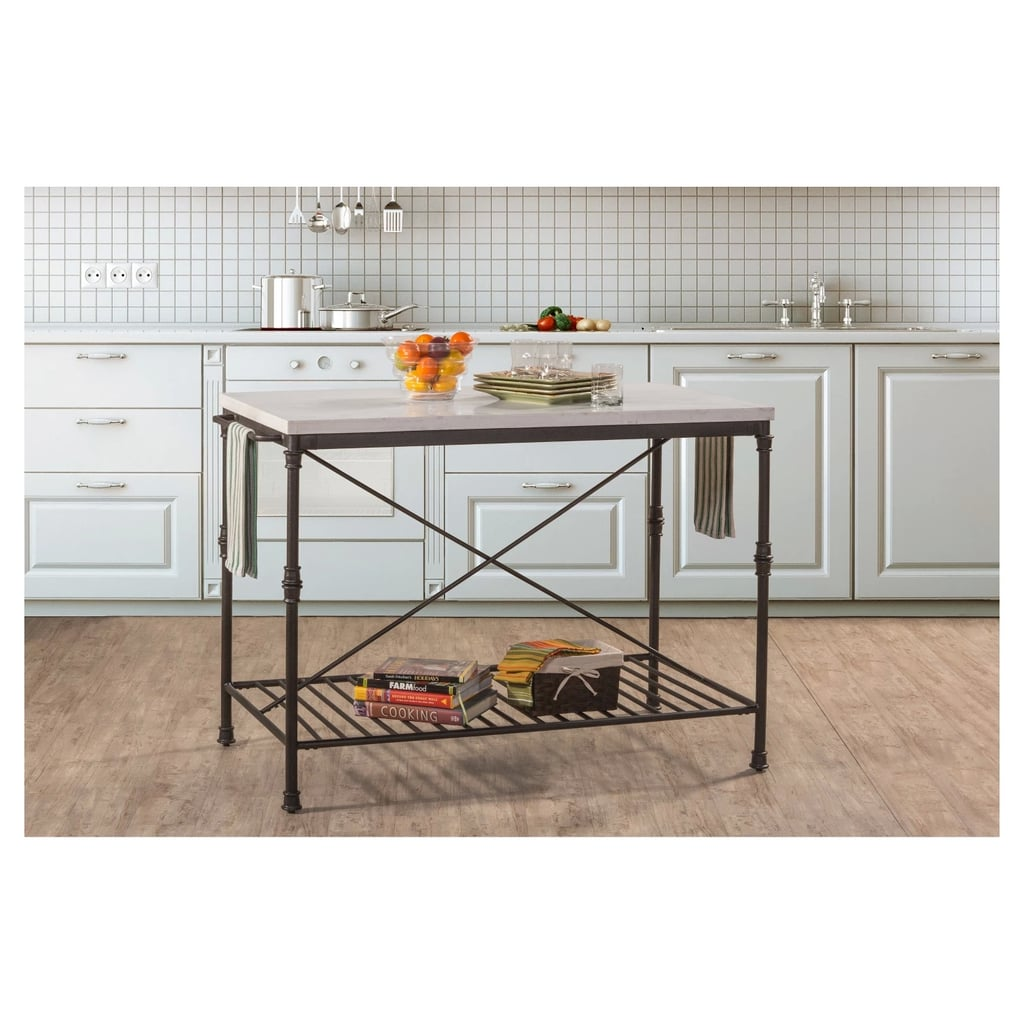 Castille Metal Kitchen Island
