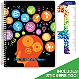 Dated Middle School or High School Student Planner For Academic Year 2018-2019