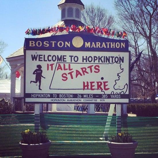 Boston Marathon 2014 Instagram Photos