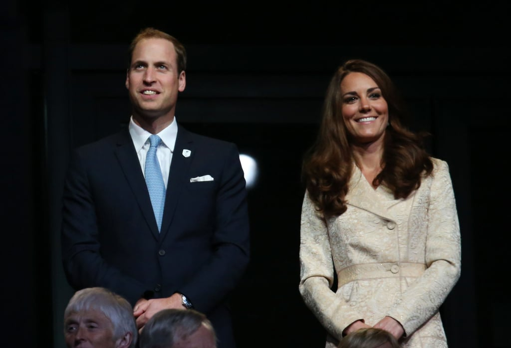 Kate Middleton joined Prince William and other British dignitaries including the queen at this morning's 2012 Paralympics opening ceremony in London. It's been two weeks since the Summer Olympic Games came to a close, and now the royals are welcoming a new crop of athletes from around the globe. Kate stepped out in a shimmery gold coat for the celebration and cheered on the performers while seated next to William, Princess Anne and London Mayor Boris Johnson. Noticeably absent from the public event was Prince Harry, who is currently dealing with the fallout from his nude photo scandal.