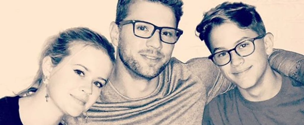 Ryan Phillippe With Kids Ava and Deacon Instagram Photo 2018