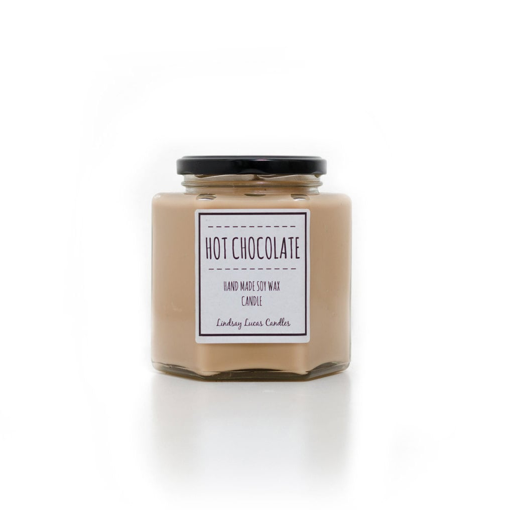Hot chocolate candle ($25)