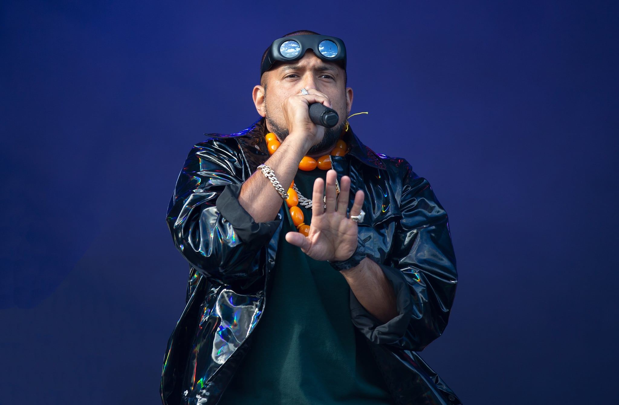 MIDDLESBROUGH, ENGLAND - MAY 26: Sean Paul performs at the Radio 1 Big Weekend at Stewart Park on May 26, 2019 in Middlesbrough, England. (Photo by Jo Hale/Redferns)