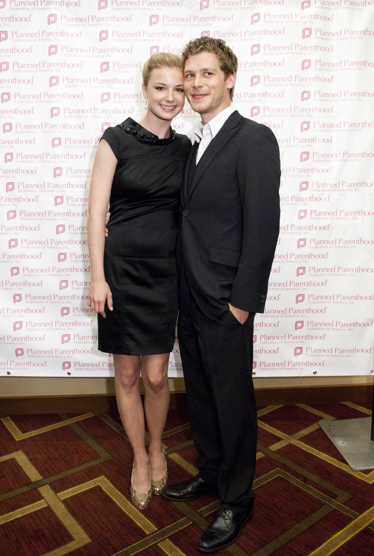 Emily Vancamp And Joseph Morgan