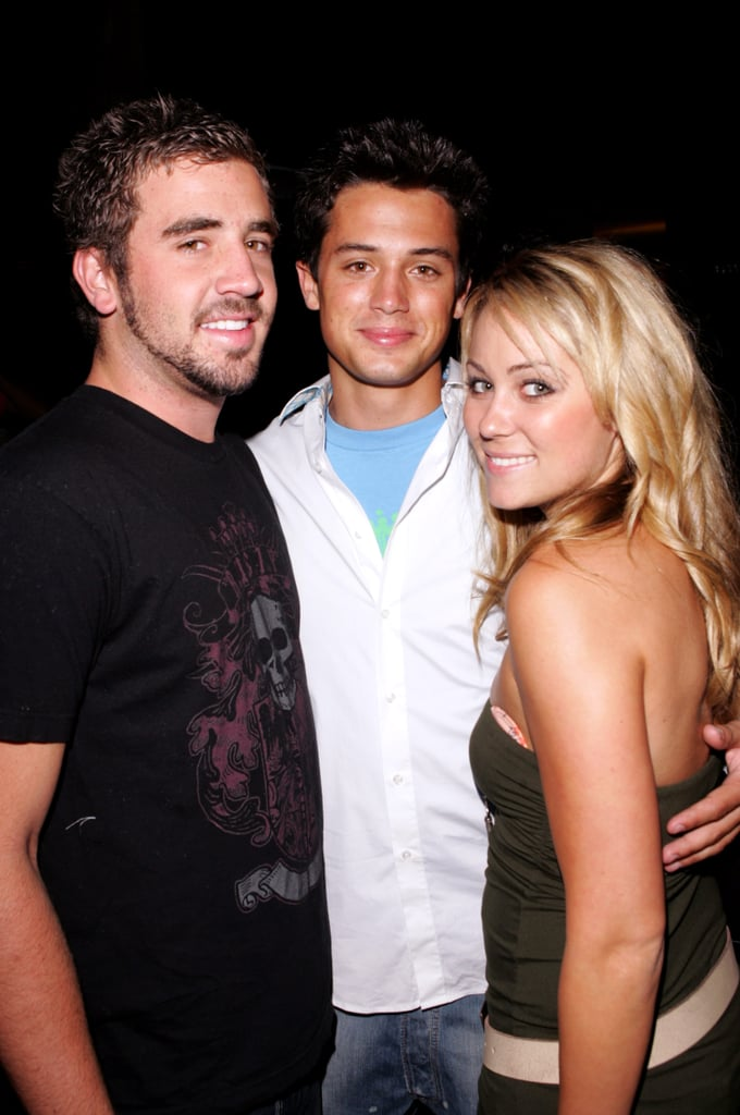Jason Whaler, Stephen Colletti, and Lauren Conrad cuddled up at a September 2005 party in LA.