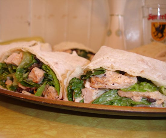 Recipe of the Day: Chicken Caesar Wraps