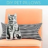 No-Sew Cat Pillow