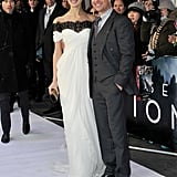 Tom Cruise Carries On the Press Tour at the UK Premiere of Oblivion