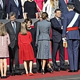 Spanish Royals at Spain National Day 2017