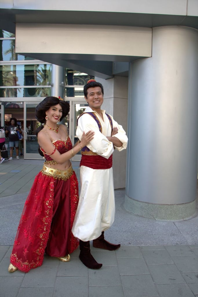 Aladdin and Princess Jasmine