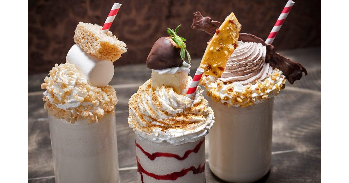 Rice Krispies Treat Milkshake Chocolate Covered
