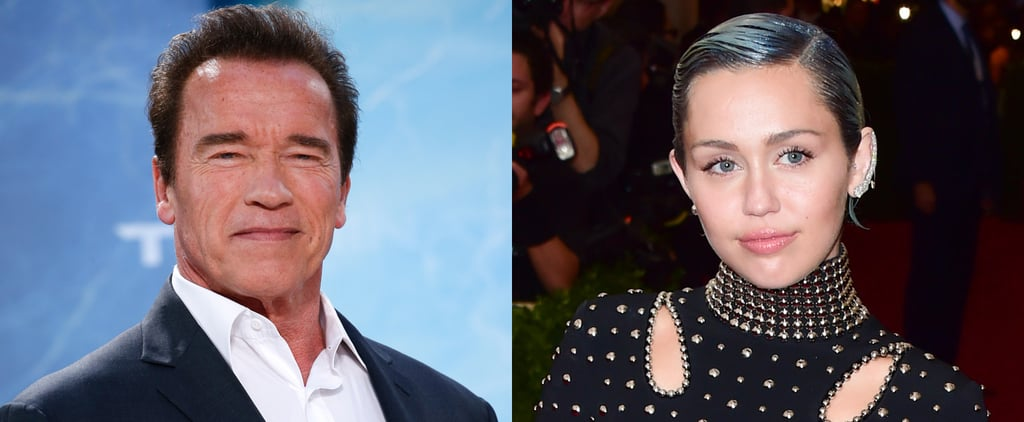 Arnold Schwarzenegger Shares How He Felt About His Son's Relationship With Miley