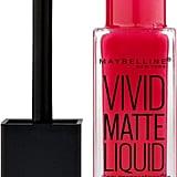 Maybelline Color Sensational Vivid Matte Liquid Lipstick in Ruby Red