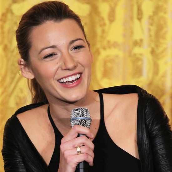 Blake Lively at a White House Film Industry Workshop