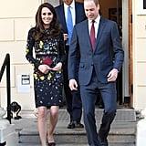 Kate Middleton Floral Erdem Dress Jan. 2017