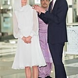 Will and Kate had an animated conversation during their tour of a mosque in Malaysia.
