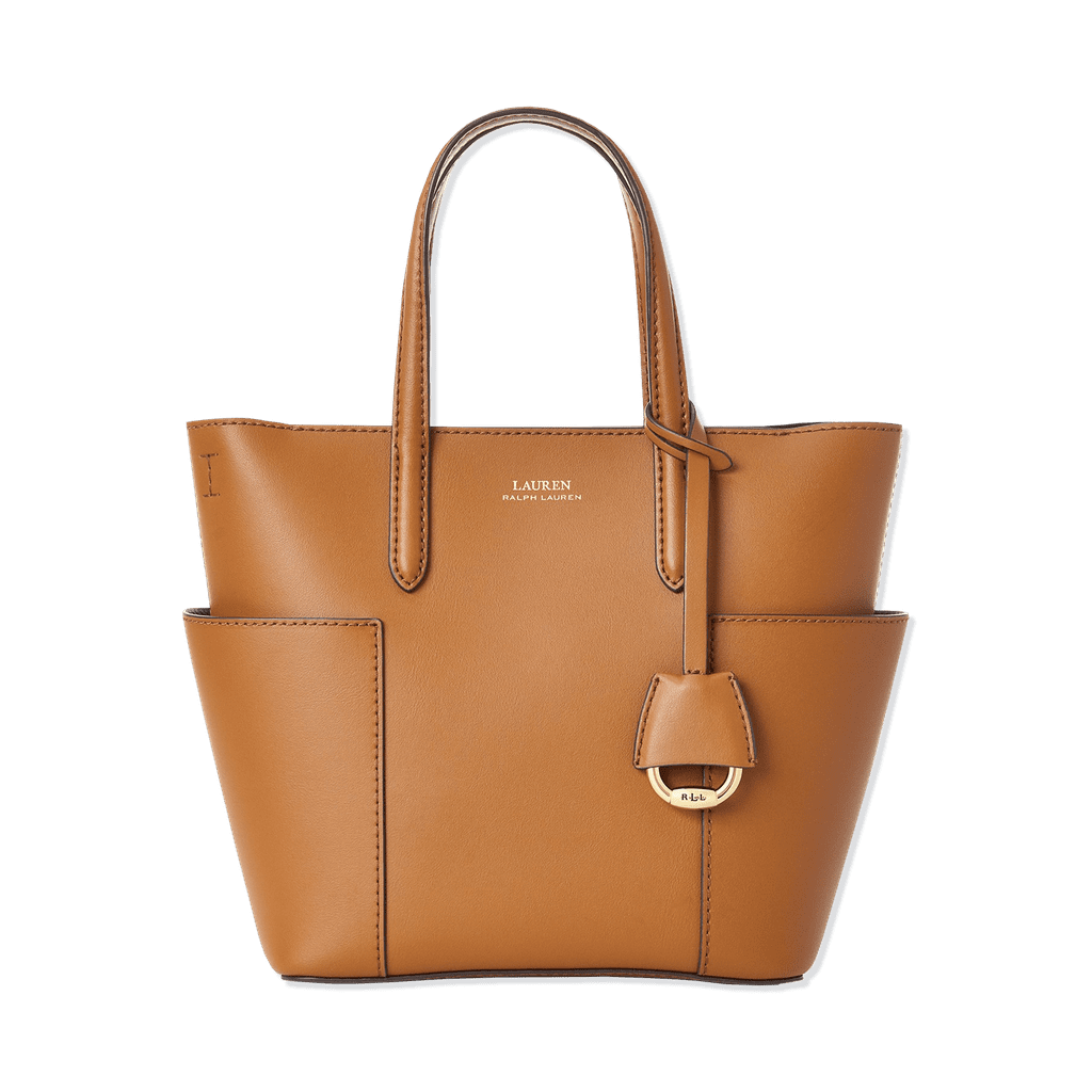 Smooth Leather Mini Carlyle Tote