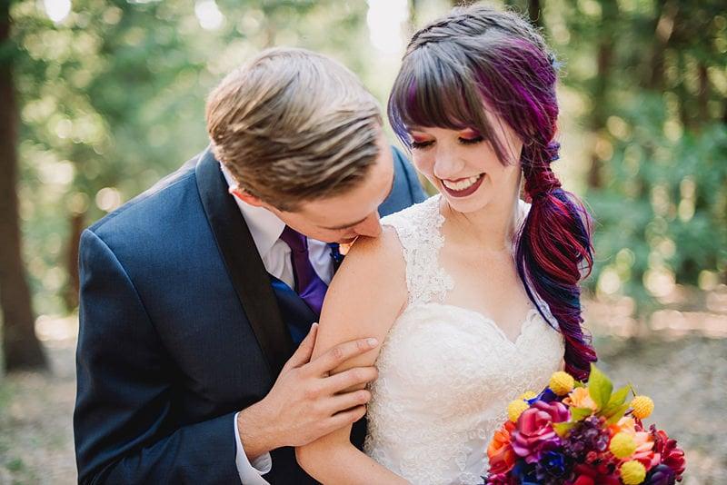 Rainbow Hair Bride   2016