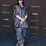 Billie Eilish Wore Silk Gucci Pajamas on the Red Carpet