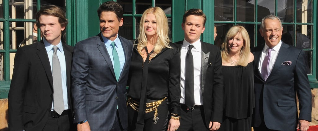 Rob Lowe Hollywood Walk of Fame Ceremony 2015