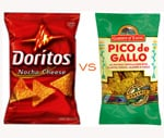 Pico de Gallo Chips:  Like Doritos, But Healthier
