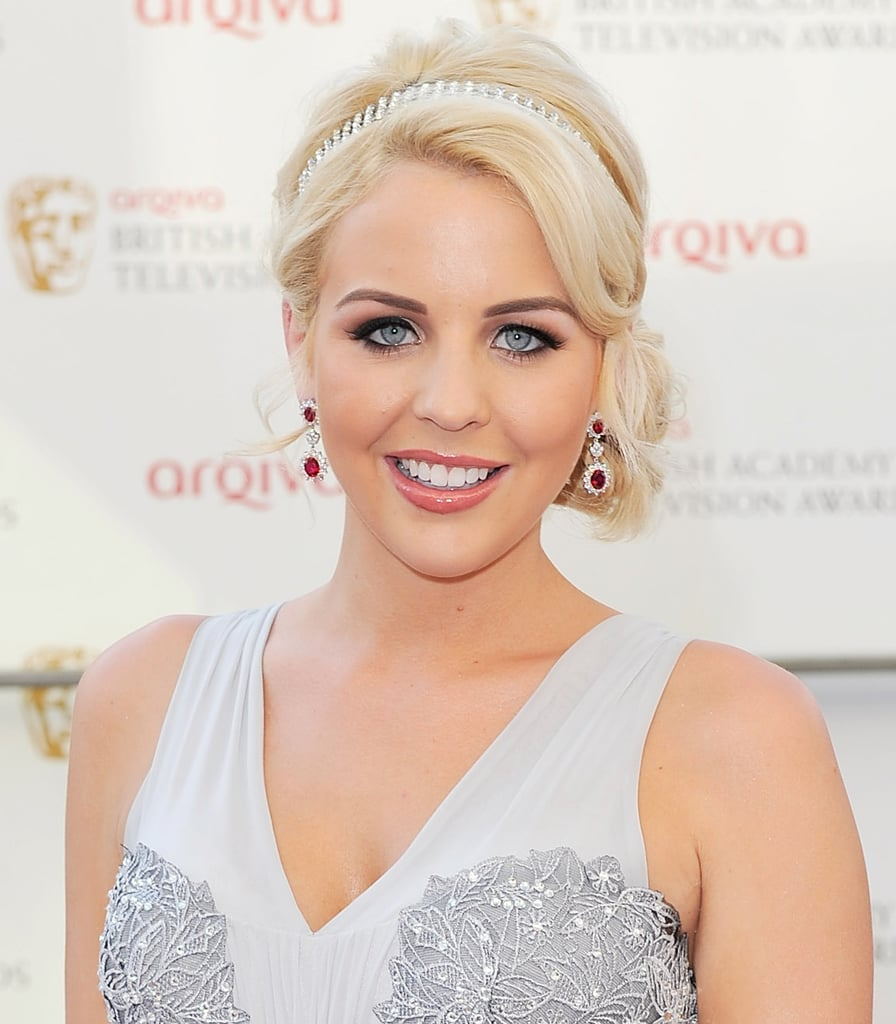 Lydia Bright also wore smoky eyes.