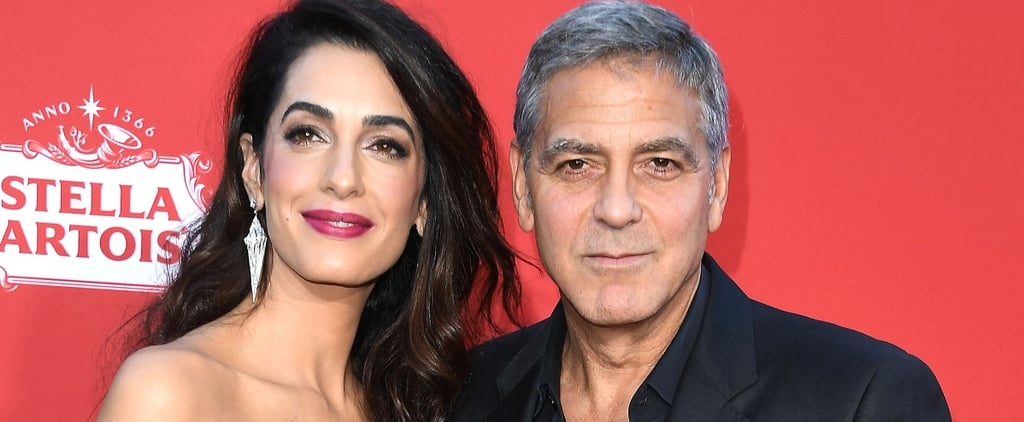 George and Amal Clooney Just Gave Out the Most Extra Goody Bags on a Flight With Their Babies
