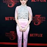 Sadie Sink at Stranger Things Season 3 Premiere