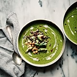 Coconut Green Soup With Celery, Kale, and Ginger