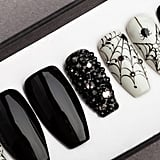 Spiders & Webs Halloween Press On Nails