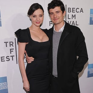 Orlando Bloom and Miranda Kerr Attend The Good Doctor Tribeca Film Festival Premiere