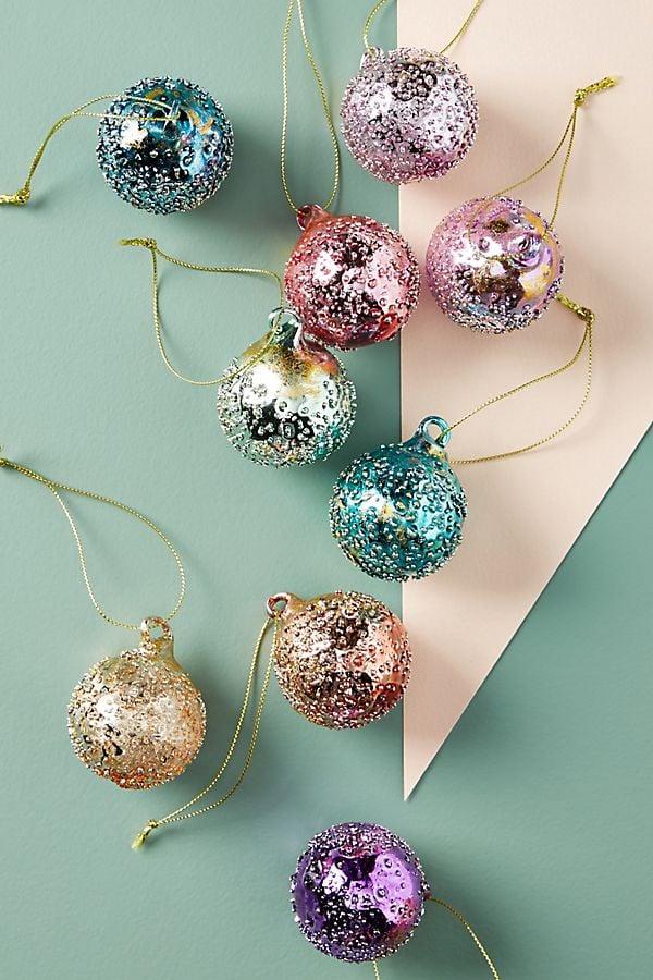 Dewdrop Ornaments, Set of 9