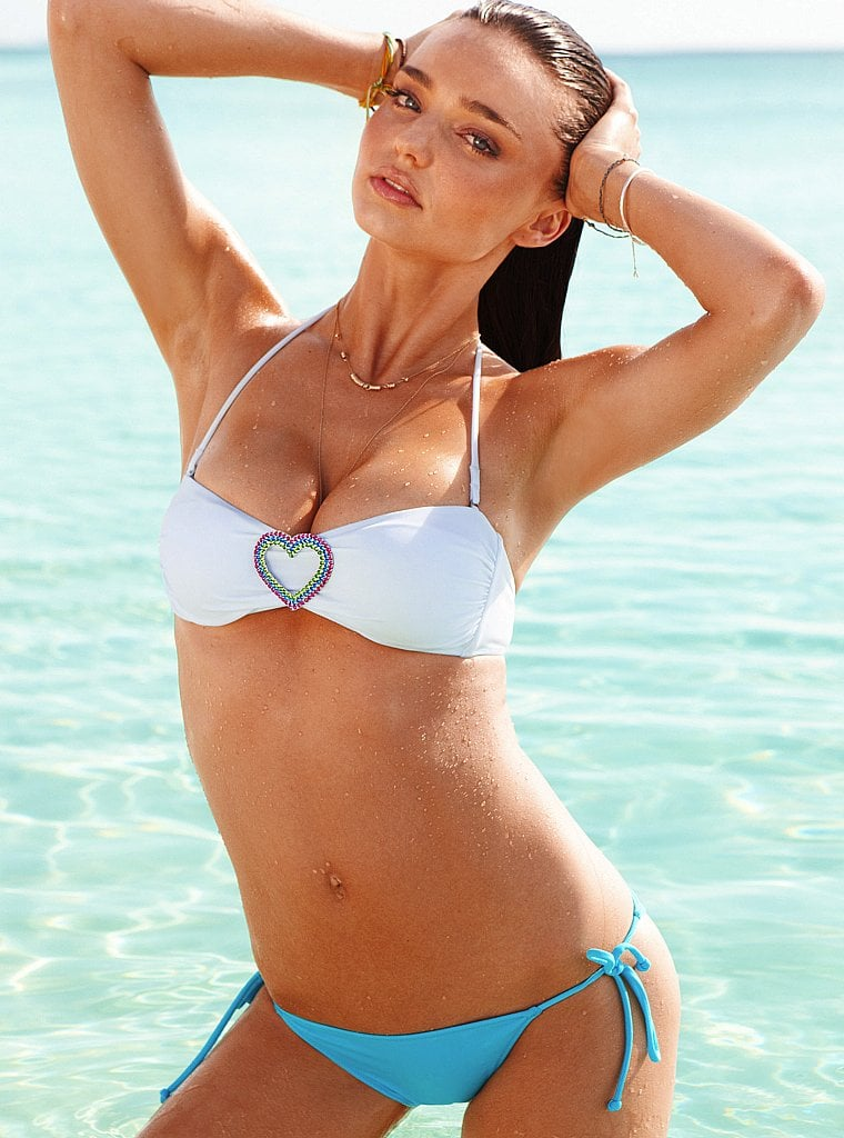 Miranda Kerr in Victoria's Secret's new ads.