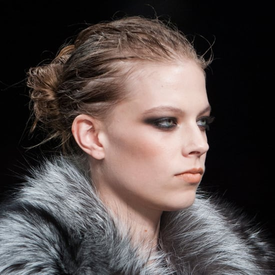 Smoky Eye Party Makeup at Roberto Cavalli Milan Fashion Week