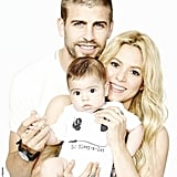 Shakira shared a sweet snap of her family. Source: Twitter user Shakira