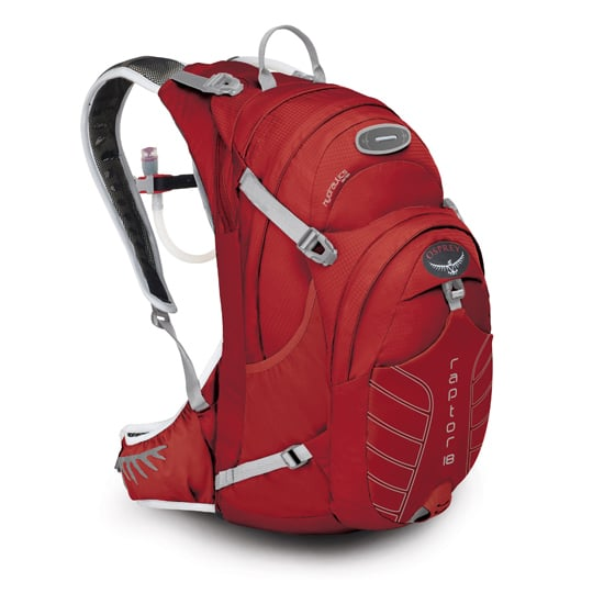 The full-sized Osprey Raptor 18 Hydration Pack ($120) is versatile for all the mountain-biking enthusiasts out there who like to stay super organized on a ride.