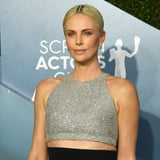 Charlize Theron Didn t Have Time to Dye Her Roots, So She Improvised With Hair Jewelry