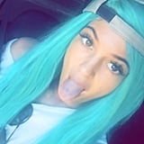 Do You Like Kylie's New Turquoise Tresses?