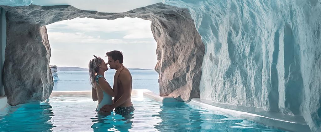 Mykonos Resort Cave Infinity Pool