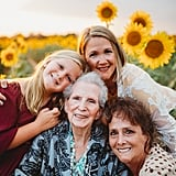 Photo Shoot With Four Generations of Family Members