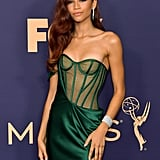 Pictures of Zendaya at the Emmys 2019