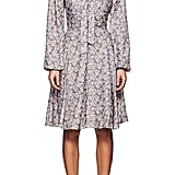 Barneys New York Floral Long-Sleeve Dress