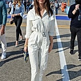 Utilitarian Denim Jumpsuit