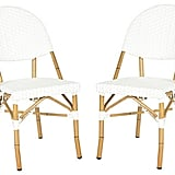 Pair of Outdoor Rivoli Side Chairs ($239)