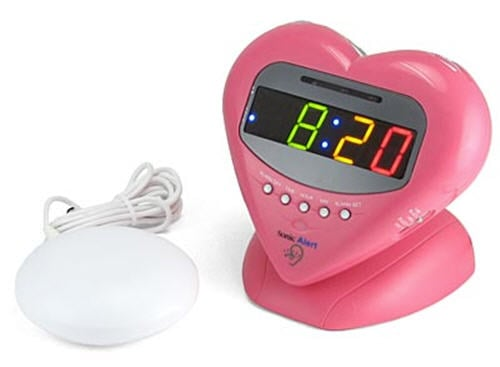 Sonic Boom Love Clock - My Geeky Valentine